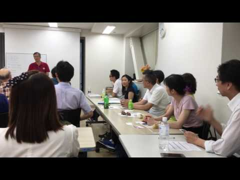 Mike Yang, Harrison Lee and Harry Fong presentation in Japan