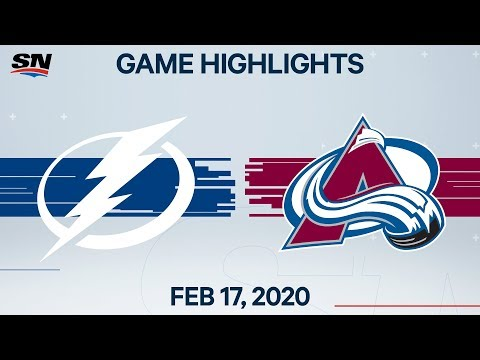 NHL Highlights | Lightning vs. Avalanche – Feb. 17, 2020