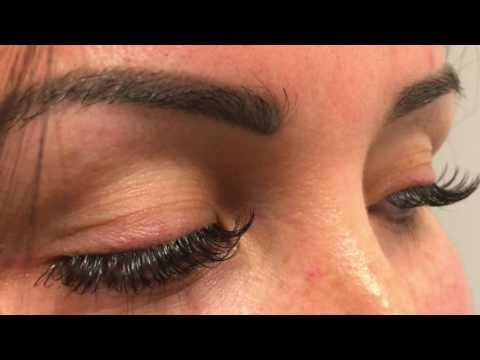 ce2c2a61b00 Eyelash Extensions Ellipse Lashes Hawaii Oahu - YouTube