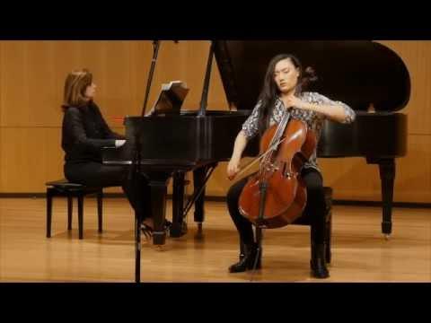 Frank Bridge - Cello Sonata - Sophia Bacelar & Noreen Polera