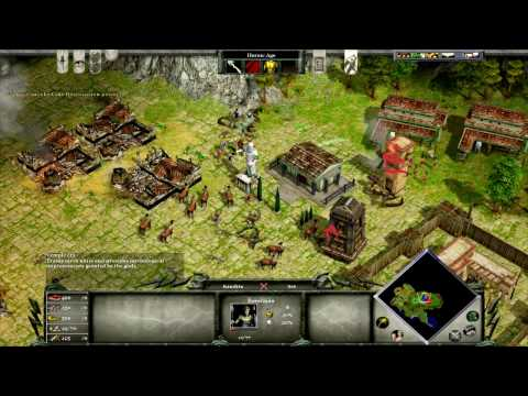 Age of Mythology campaign mission 7 [Titan Difficulty]