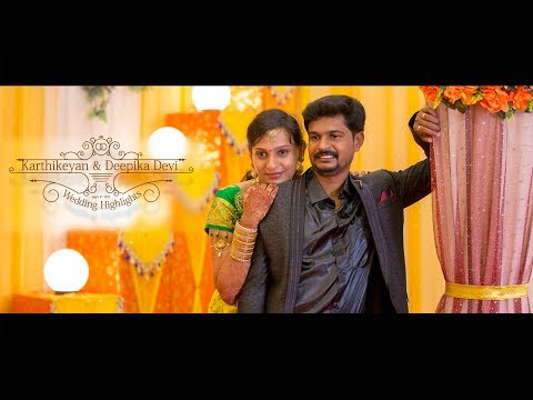 Studio Art Presents Wedding Highlights Of KARTHIKEYAN & DEEPIKA DEVI at Madurai