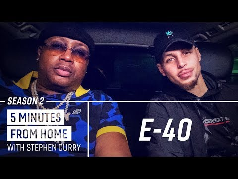 Shay Diddy - E-40 Teaches Stephen Curry New Bay Area Slang!