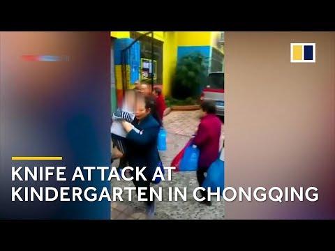 Knife attack at kindergarten in Chongqing, China