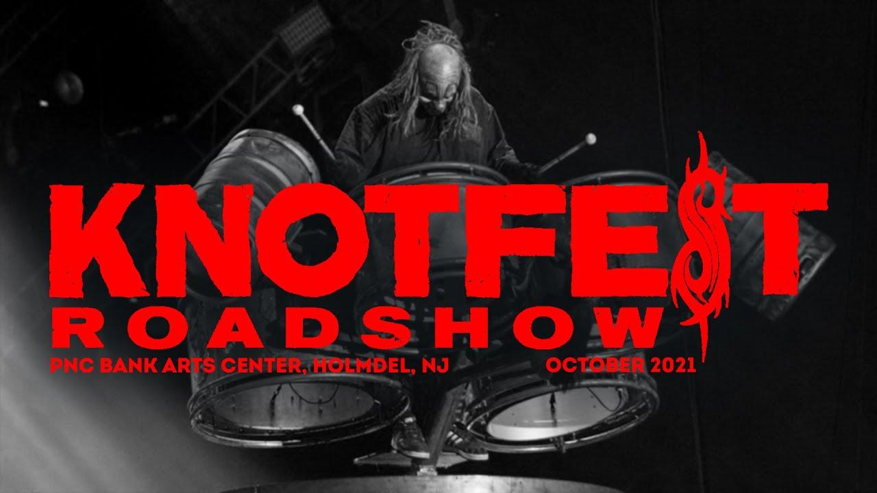 Концерт Slipknot в США. Knotfest Roadshow, Holmdel, NJ. 10/10/2021
