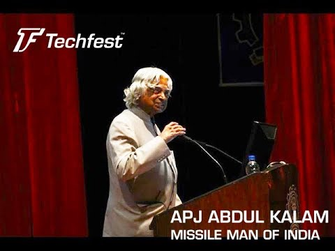 Dr. A. P. J. Abdul Kalam, Lecture Series, Techfest-2015, IIT Bombay