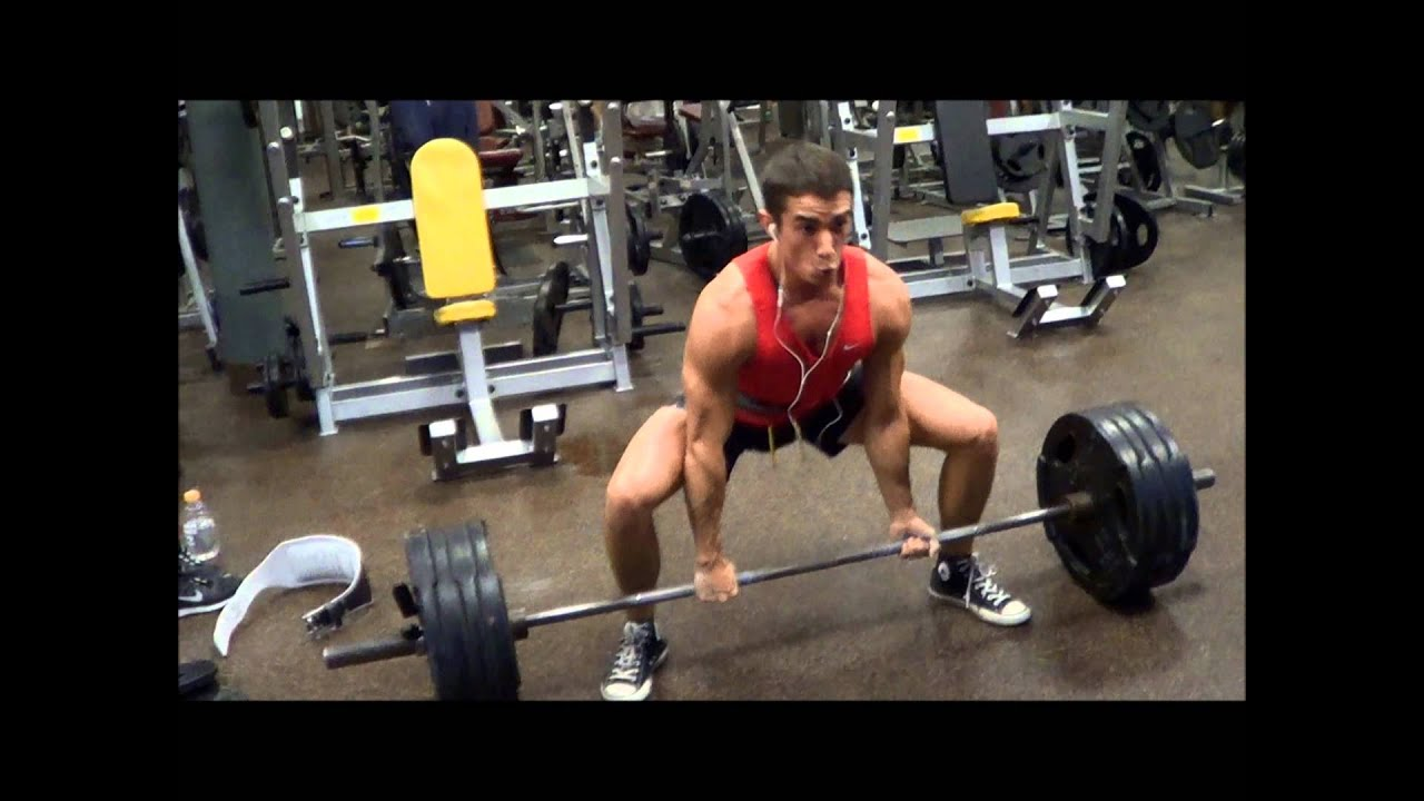 sumo deadlift day youtube