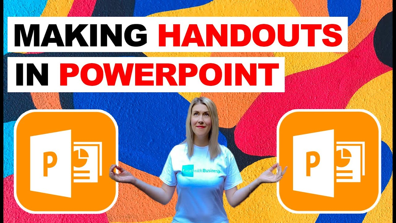 Making Handouts in Microsoft PowerPoint (Tips and Tricks)