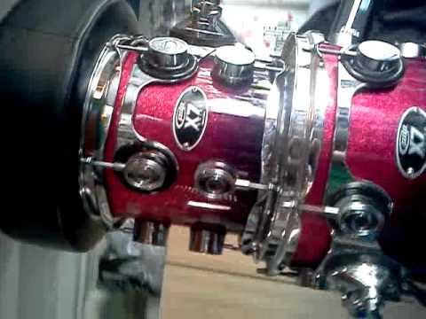 PDP Maple 7 Piece Drum Set For Sale
