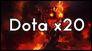 Dota 2 Mods | EPIC DOTA X20 FIGHT!!