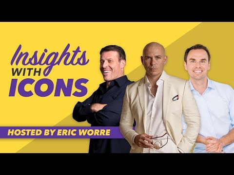 Insights with Icons: A conversation with Tony Robbins, Pitbull, and Brendon Burchard