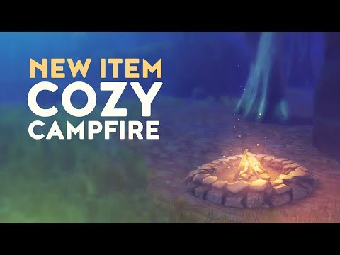 NEW ITEM: COZY CAMPFIRE (Fortnite Battle Royale)