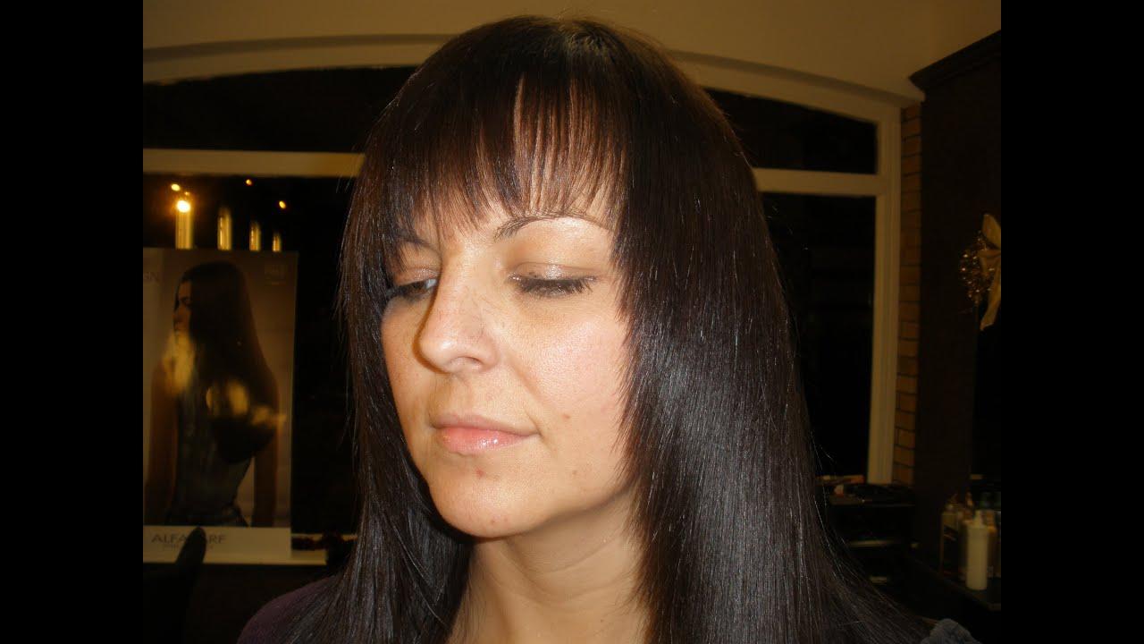 How to Cut Amazing Long Layers Leading Irish stylist Fran ...