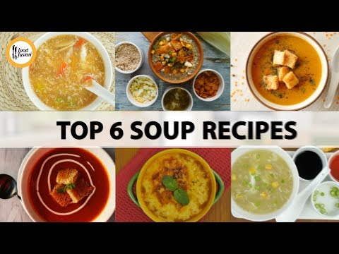 Top Soup Recipes By Food Fusion
