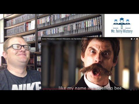 A History Teacher Reacts | Epic Rap Battles of History (Part 1)