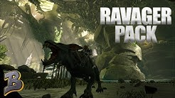 Taming A Pack Of Ravagers We Are Alpha Aberration Ark Survival Evolved Ep 5