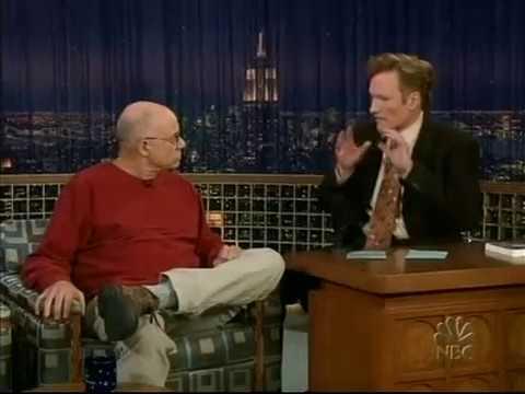 Conan O'Brien 'James Ellroy 10/19/04