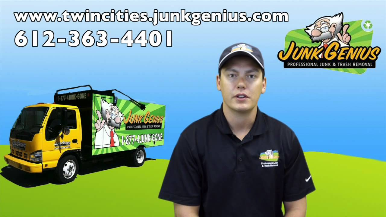 Junk Removal And Recycling St Paul Minnesota Youtube