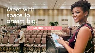 Meet with space to dream big at Caribe Royale Orla...