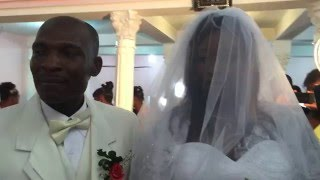 Haiti Wedding Bride Entrance