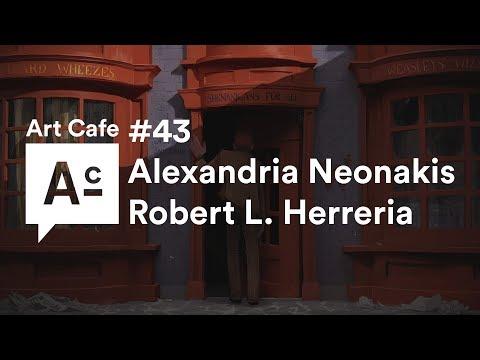 Art Cafe #43 - US Immigration - Alexandria Neonakis & Robert L. Herreria