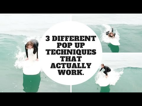 download The Best Pop Up Techniques - 3 Different Ways To Pop Up Quickly in Surfing