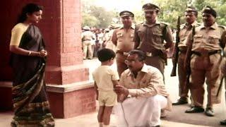 Nayakudu Movie || Kamal Haasan Climax Court Scene || Kamal Haasan, Saranya