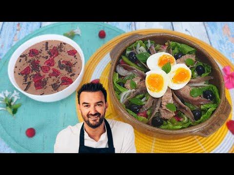 tous-en-cuisine-#67-:-je-teste-la-mousse-lactÉe-stracciatella-et-la-salade-niÇoise-de-cyril-lignac-!