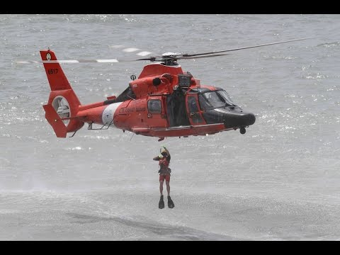 US Coast Guard Search and Rescue Demonstration