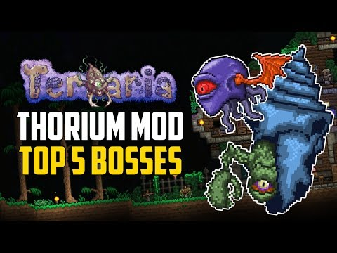 Terraria THORIUM MOD Top 5 Bosses | Expert Mode Tips & Items | PC Mods