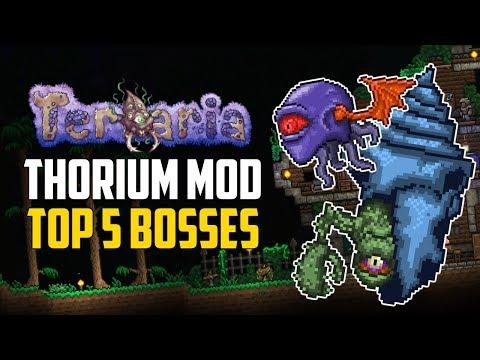 Terraria THORIUM MOD Top 5 Bosses | Expert Mode Tips & Items | PC Mods