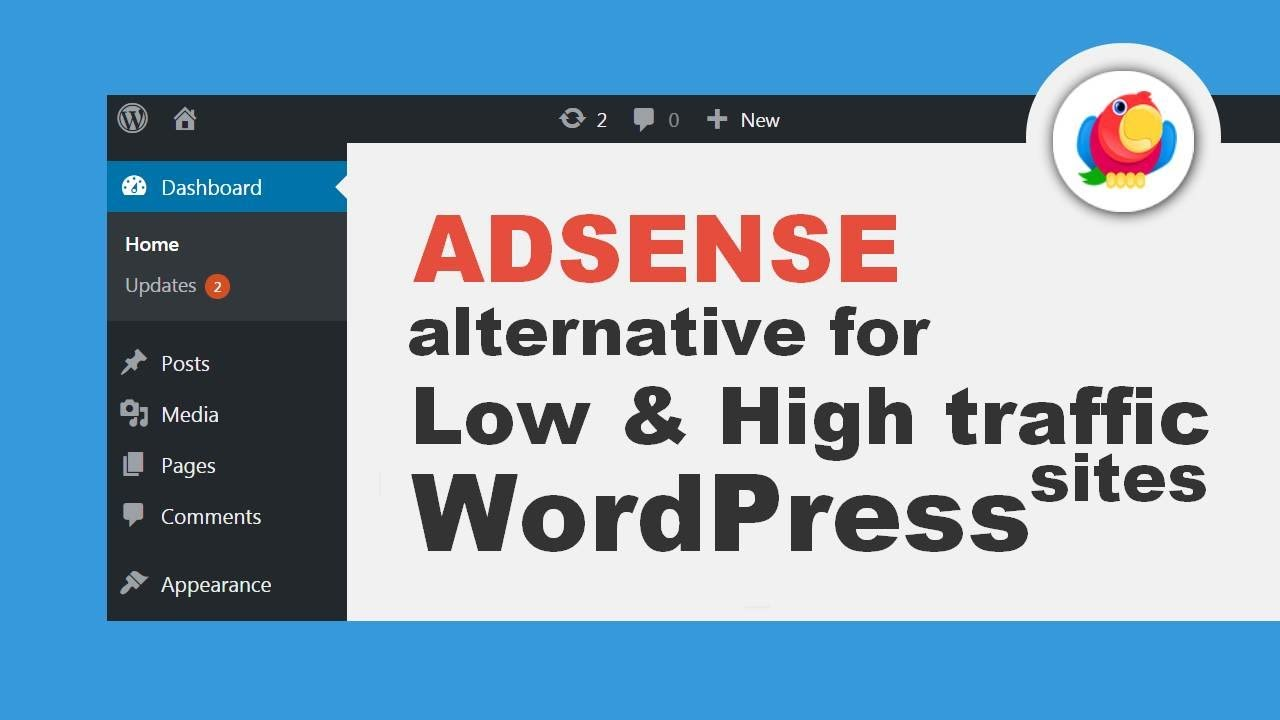 Best Adsense Alternatives For Low And High Traffic Websites Youtube