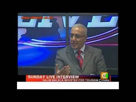 Sunday Live Interview With Najib Balala