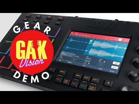 Akai MPC Touch Sampler at GAK