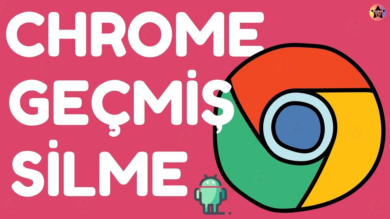 Google Chrome Geçmiş Silme Android | Google Chrome Tarama Verilerini Temizleme Android - YouTube