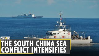 Chinese militia boats 'entering Philippine water' | South China Sea | Latest English News