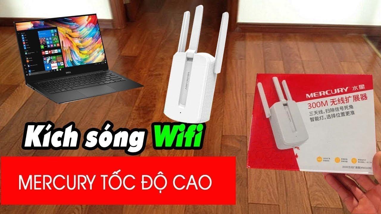 Hướng Dẫn Cài Đặt Kích Sóng Wifi MERCURY 3 RÂU CỰC DỄ DÀNG | Ngừng Kinh Doanh