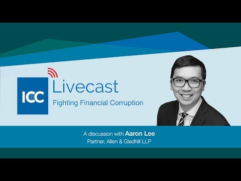 ICC Livecast - Fighting Financial Corruption