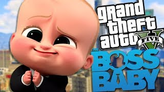 GTA 5 Mods - BOSS BABY MOD (GTA 5 Mods Gameplay)