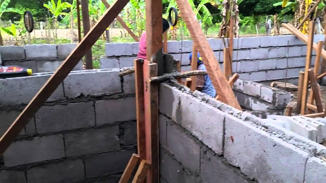Kid 39 s house construction update days two to five youtube for Cost of building a house in philippines
