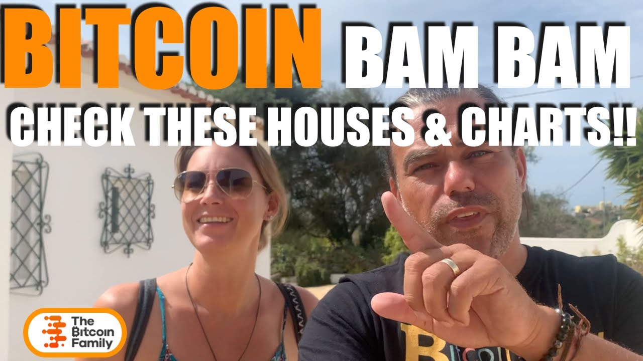 BAM BAM!! CHECK THESE UNIQUE BITCOIN CHARTS & HOUSES!! Huh, so we MOON soon & what does she want??