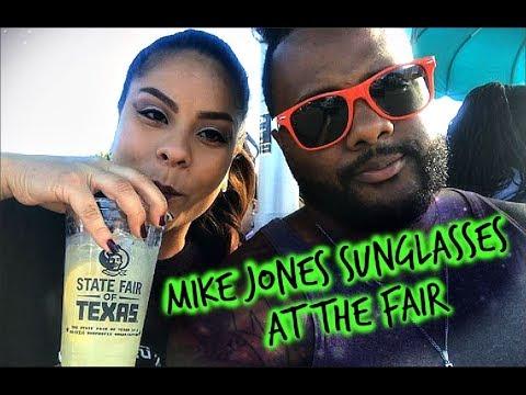 Mike Jones sunglasses at the fair!
