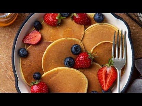 pancakes-sans-oeufs-tres-facile-بان-كيك-بدون-بيض😋😋😋//how-to-make-pancakes//如何做煎饼