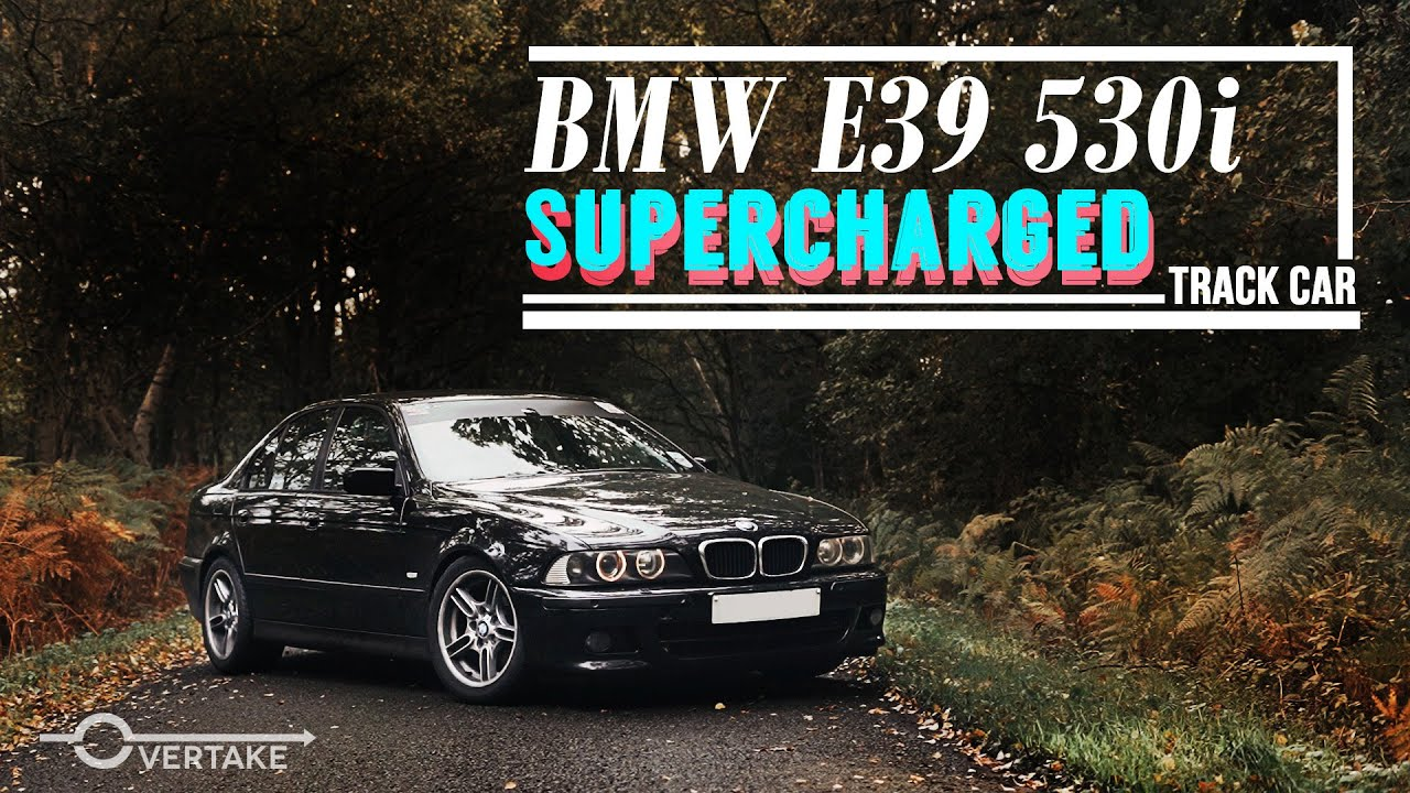 BMW E39 530i Supercharged Budget Track Car - 300bhp ESS Supercharger kit Drive and review | OVERTAKE