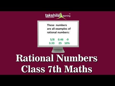 Class 7 Maths Rational Numbers - CBSE & NCERT Solutions ...