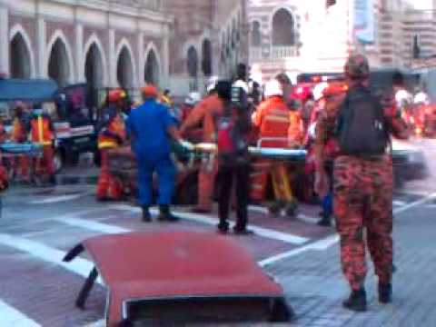 Malaysia Fire Department Emergency Rescue [Demonstration] 999