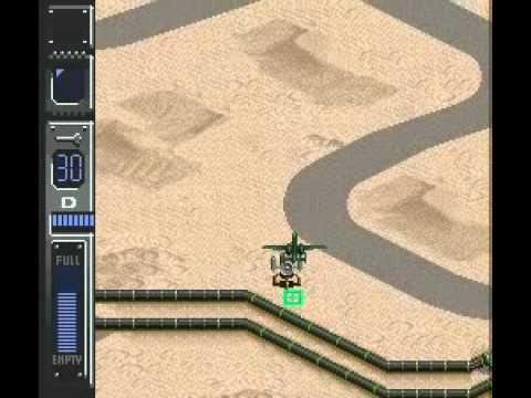 Air Strike Patrol (SNES) - Mission 3 (1/2)