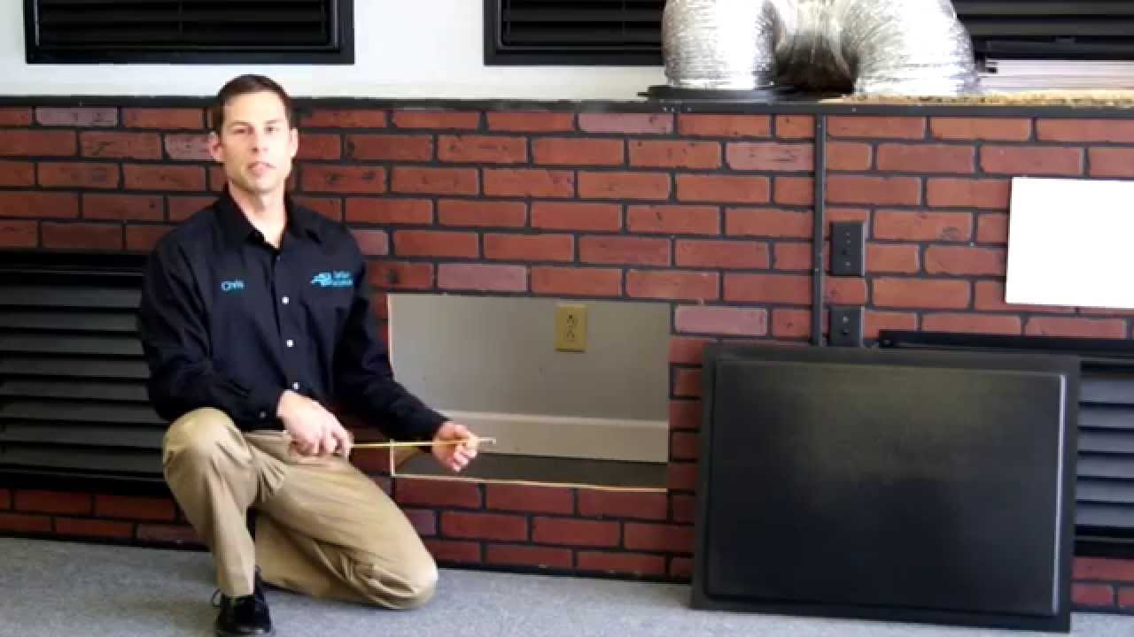How to Measure the Crawl Space Door  YouTube