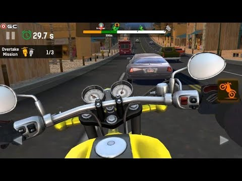 Moto Rider Go Highway Traffic - Motor Racer Games - Android Gameplay FHD