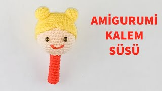 Back to School DIY Ideas For The Child | Okula Dönüş 2019 Amigurumi Kalem Süsü Yapılışı